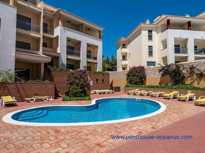 Photo for 'Penthouse-Oceanus' sea view with swimming pool, in the residence Oceanus-Jardim.