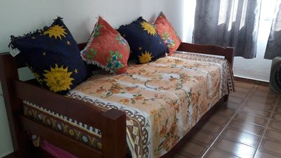 Photo for Stay in Praia Grande one block from the beach.