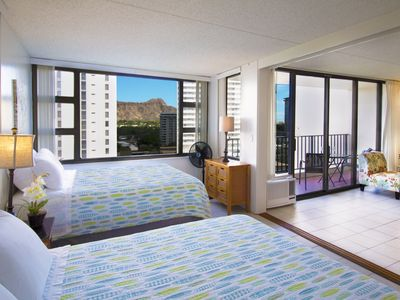 Photo for Waikiki Banyan | Diamond Head Views | WiFi and Parking!