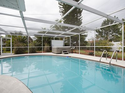 Photo for Bonita Springs Bungalow with heated pool -$   99. a night !  3 minutes to beach