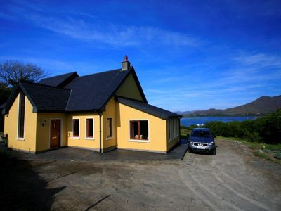Photo for PALLAS LODGE, Beara Peninsula, overlooking Ardgroom Harbour and Kerry mountains