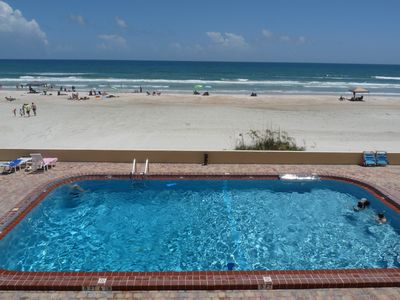 Photo for Spectacular Daytona Beach Direct Oceanfront Private Balcony Views - Dog Friendly