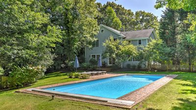 Photo for Close to Village & Beach, Heated Pool (Opening May 1st!) Finished Basement w/ Media Room, Fireplace,