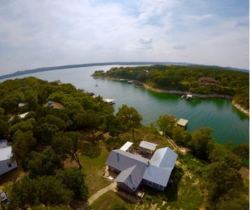 Photo for Deep Water Cove on Lake Travis Waterfront with Private Two Story Boat Dock