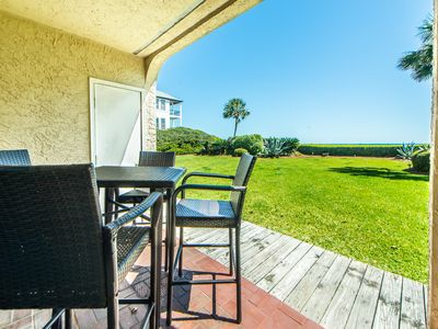 Photo for ☀️2BR Capistrano 103 on 30A☀️ Grnd Floor-Gulf Front-Apr 21 to 23 $602! Seacrest!