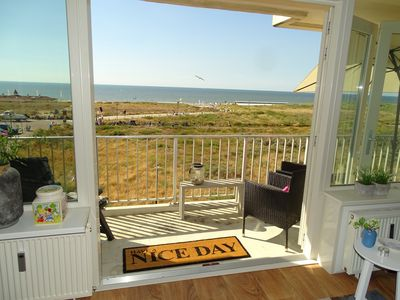 Photo for Beautiful apartment with view over the North Sea! | Noordwijk aan Zeezicht
