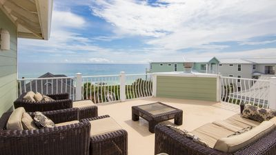 Photo for Private Pool! Steps From Beach Access! Luxury Seagrove Home!