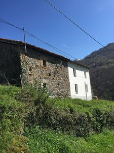 The back of the house