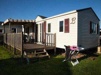 Photo for Camping Les Alizés *** - Mobil Home Grand Confort 4 Rooms 6/8 People