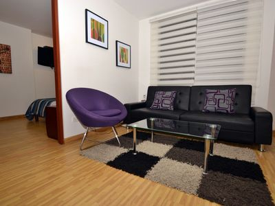 Photo for 1BR Perfect flat nr Parque 93 - KAREN