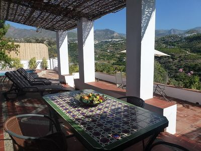 Photo for Apartment in Frigiliana with Parking, Internet, Washing machine, Air conditioning (127085)