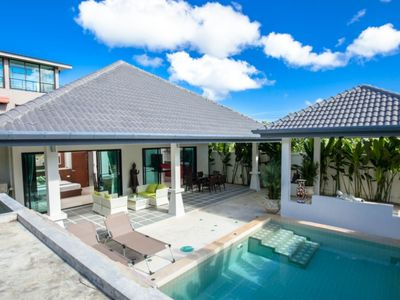 Photo for Shalimar - small villa with 2 comfortable bedrooms private pool not overlooked