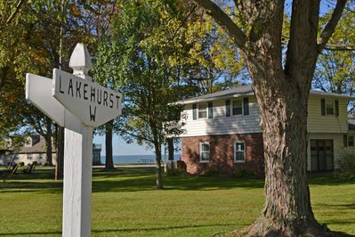 Our Lakehurst vacation home.