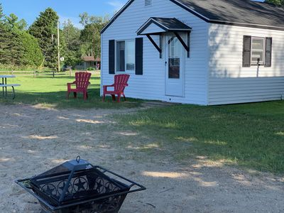 Photo for Lakeshore Vacation Rental Cabins - Fall Color