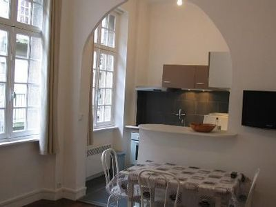 Photo for Apartment in the heart of St. Malo, close to the beach, 3 people, well equipped