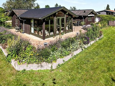 Photo for Vintage Holiday Home in Rønde amidst greenery
