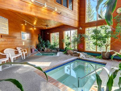 Photo for Modern mountain escape with shared pool, sauna, hot tub, and rec center access