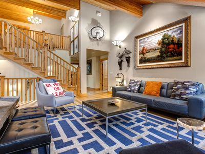 Photo for Stunning Home On the Park City Mountain with Hot Tub and 2 Fireplaces!