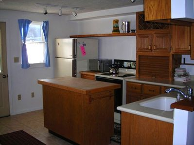 Nicely Appointed Kitchen with Full Size Appliances