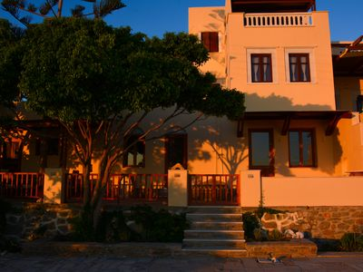 Photo for Cycladic house just outside of Naxos Chora with amazing view to the sea.