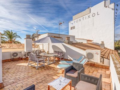 Photo for Fantastic Holiday Home on the Port of Palma with Rooftop Terrace, Air Conditioning and Wi-Fi