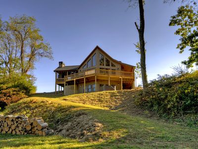 Photo for Escape from it all at a River Meadow, a luxurious3/3 riverfront cabin
