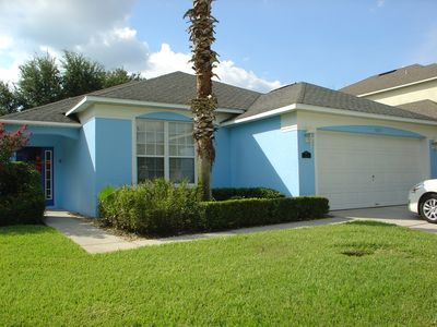 Photo for Beautiful 4 bedroom villa in Golf community (gated), Disney 20 minutes