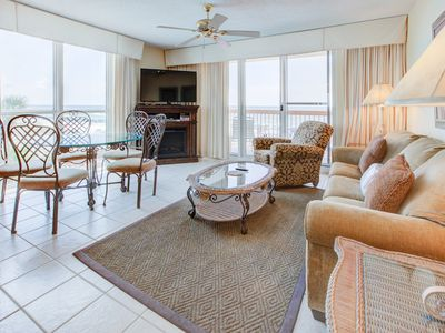 Photo for 2 bedroom end unit #301 @ Pelican Beach Resort, on the beach with fine upgrades!