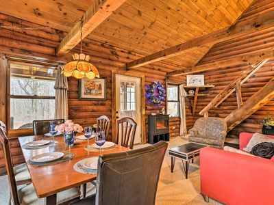 Photo for Cozy Log Cabin w/Patio Near Ellicottville & Skiing