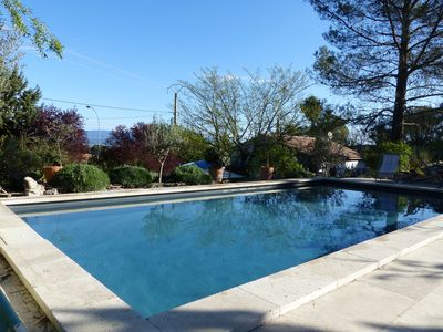 Photo for House with garden and swimming pool located between Aix en Provence and the Luberon