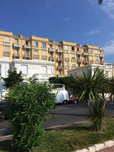 Photo for On The Promenade Des Anglais. Beautiful old building from 1900. Beautiful 3 Bedroom