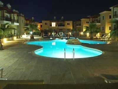 Photo for Ground Floor Apartment With Private Patio And Feature Communal Pool