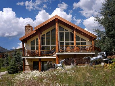 Photo for SKI-IN-SKI-OUT Chalet. 1 of 2 Houses at the Base of Mt Crested Butte.