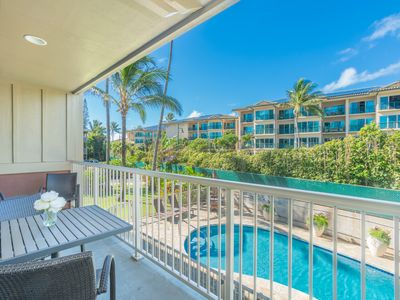 Photo for Ocean Breeze 2 BR Kapaa Condo with Pool! (216)
