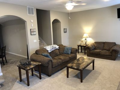 Photo for Near Biltmore Estate and Asheville, Spacious Mountain Apartment