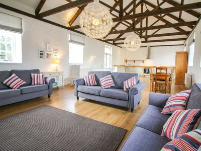 Photo for A simply beautiful barn conversion of one of the outbuildings of an historic manor house