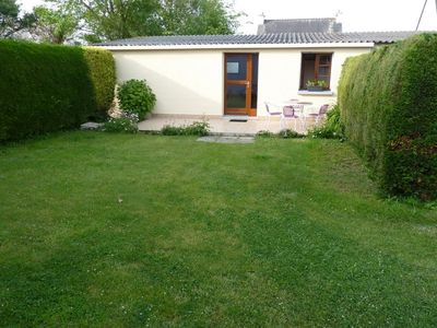 Photo for Nice ground floor house with garden and terrace,