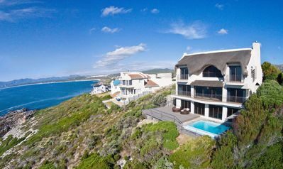 Photo for Whale Huys: Direct ocean-front villa, 4br/ba, Wifi, Infinity Pool