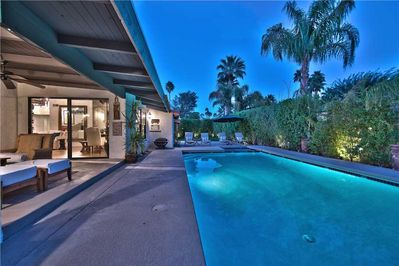 2 POOL AND COVERED PATIO NIGHT