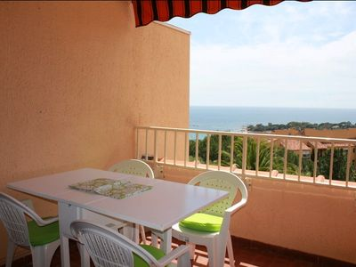 Photo for AJACCIO - Beautiful studio facing the beach Marinella ST-273