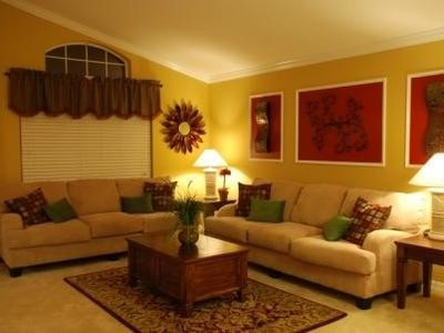 Separate Living Room, modern decor with comfortable furnishings