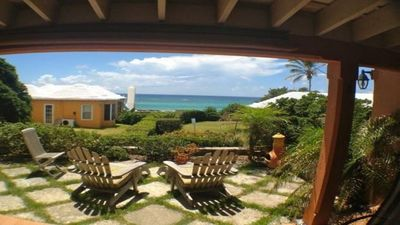 Photo for Charming Bermuda Cottage Overlooking The Ocean With Access To The Shore.