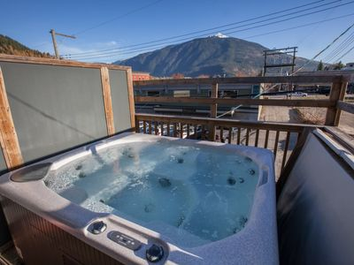 Photo for Grizzly Den: Upscale, Spacious Downtown Condo with Hot Tub