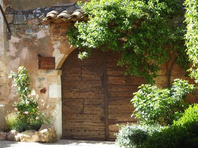 Photo for CHARACTER HOUSE LOCATED IN THE TYPICAL PROVENCAL VILLAGE