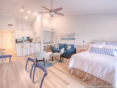 Photo for Renovated in 2019! Beach Condo in Sawgrass Country Club Just Steps From the Sand