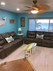 Photo for Completely Remodeled Beach Front Condo Directly on Beach and Boardwalk