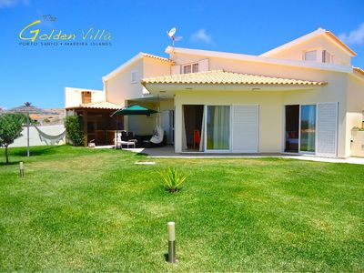 Photo for Luxury beach house by the sea, with garden, sea view, 5 minutes from the center