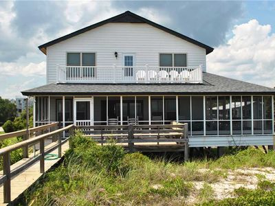 Photo for Oceanfront house at North Litchfield Beach in Pawleys Island