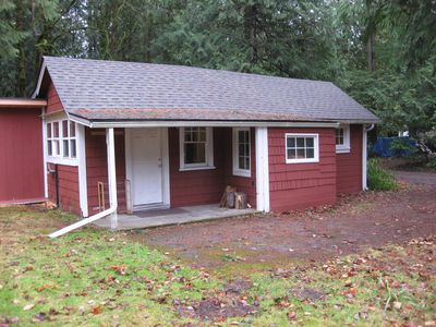 Photo for Private, Clean, Quaint Mt. Hood Cabin W/ Infrared Sauna And Woodburning Stove