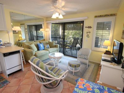 Photo for Seaside Villas 205 - Great Ocean View , Central Air, Just steps to the beach!